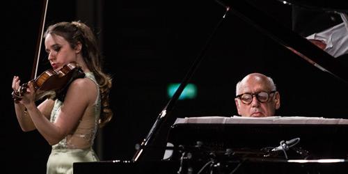 Michael Nyman e Anna Tifu