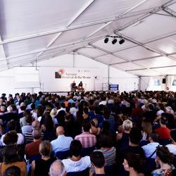 Il pubblico del Festival della Mente
